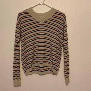Striped RVCA Sweater